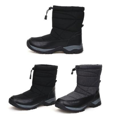 [애슬릿]발 편한 커플 방한 부츠 3cm
