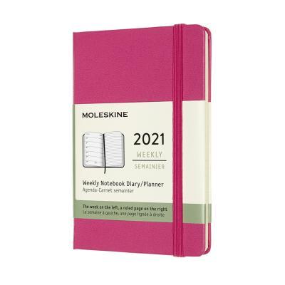 몰스킨 2021위클리/부겐빌레아 핑크.하드 P
