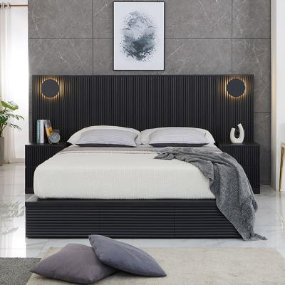 M5172 템바보드 블랙 Q 침대 세트