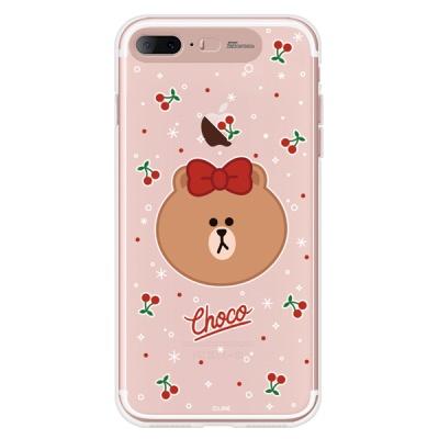라인프렌즈 iPhone7 + 8+ CHOCO Cherry LIGHT CASE