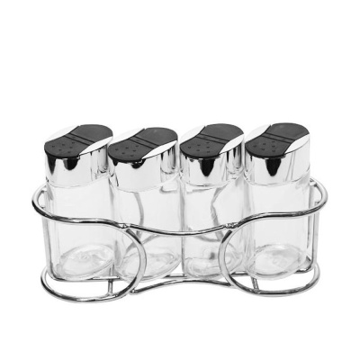 시노글라스 스파이스양념병 타원 5P 세트 소금 후추