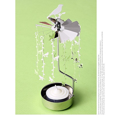 ROTARY CANDLE HOLDER SMALL BIRDS[캔들홀더]