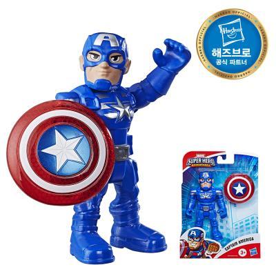 마블 슈퍼히어로 어드밴쳐 피규어 캡틴아메리카 SHA