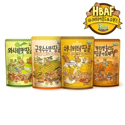 [길림양행] 시즈닝땅콩 120g 4봉 골라담기
