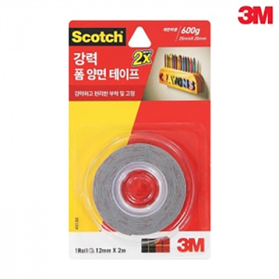 3M 스카치™ 강력 폼 양면 테이프