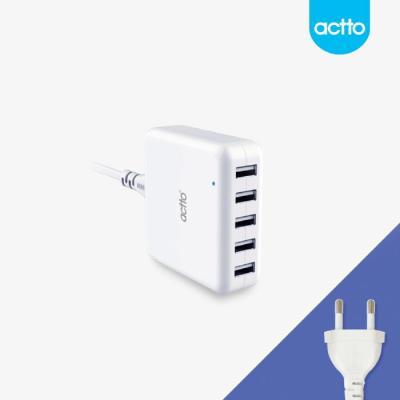 actto 엑토 스피드 5포트 USB 충전기 MCU-02