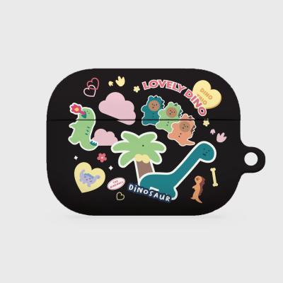 dino sticker pack 에어팟프로 하드케이스