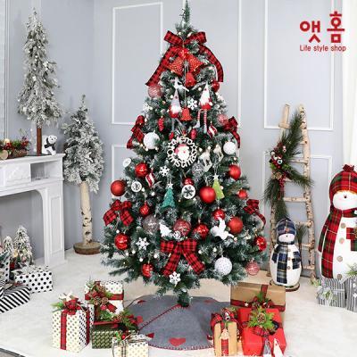 앳홈 캐시야레드 크리스마스 트리 2.1M