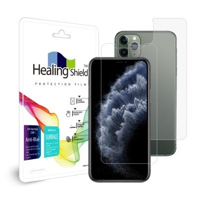 아이폰11 프로 블루라이트차단 액정2매+후면2+카메라6