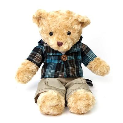 신체크후드 테디베어-남자곰(소형-브라운)