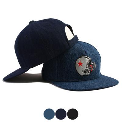[디꾸보]레드별 헬멧 스냅백 남녀공용 모자 HN292