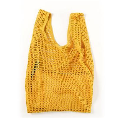 [바쿠백] 메쉬백 여름 그물가방 + 파우치 Marigold