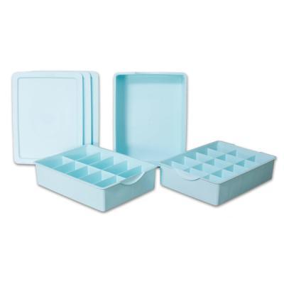 키친아트 다용도 속옷정리함 PP 3종세트 (블루)