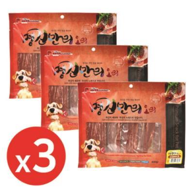 명견만리400g 오리스테이크 x3개 강아지간식