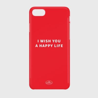 I WISH YOU A HAPPY LIFE 하드케이스