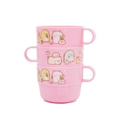스밋코구라시 손잡이3P컵 핑크(H469877)