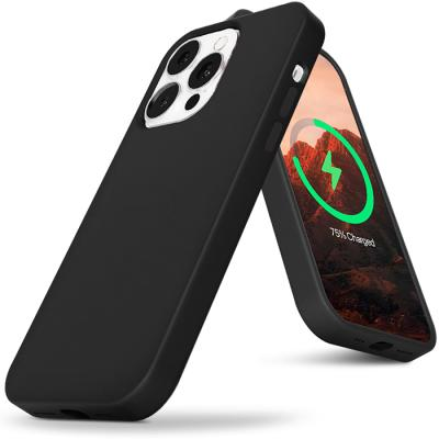 아이폰13 맥세이프 실리콘 블랙 케이스