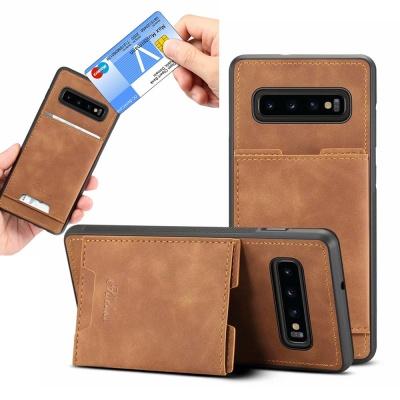갤럭시 가죽 마그네틱 카드 수납 핸드폰 케이스 1411
