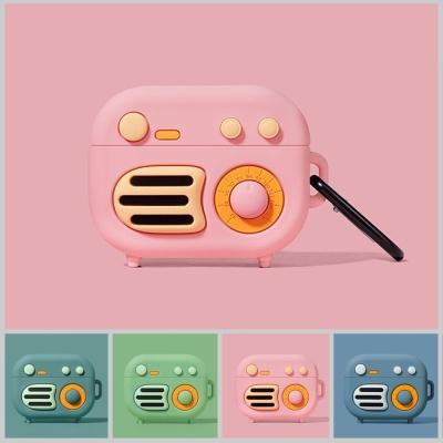 에어팟프로 3세대 레트로 라디오 케이스/에어버즈프로