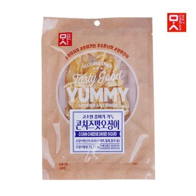 [MAT DREAM] 쫄깃한 감칠맛 콘치즈맛오징어 30gx3봉
