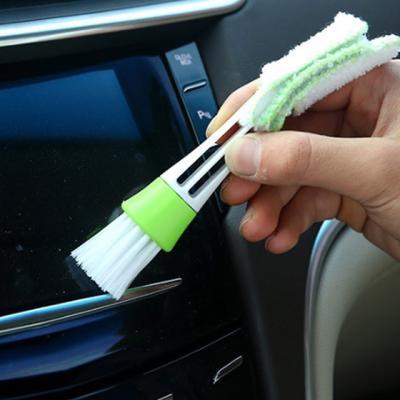 차량용 에어컨 틈새 청소브러쉬