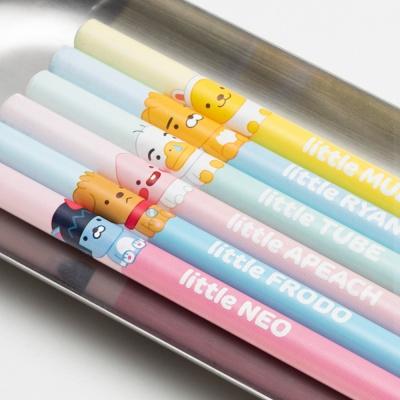 카카오프렌즈 리틀프렌즈 4본 연필세트