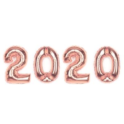알파벳은박풍선세트 (2020) 실버