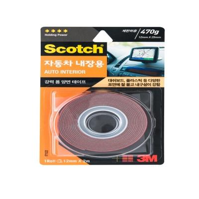 3M 스카치™ 강력 자동차 내장용 폼 양면테이프 IT122