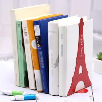 에펠탑 북엔드 2p세트(레드) L자형 책고정 책꽂이
