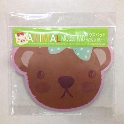 곰돌이 캐릭터 디자인 마우스패드 액세사리 소품
