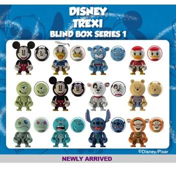 [TREXI]디즈니 트렉시 블라인드박스 시리즈 1(12종중 단품 랜덤 1개-중복있음 25개 세트박스)