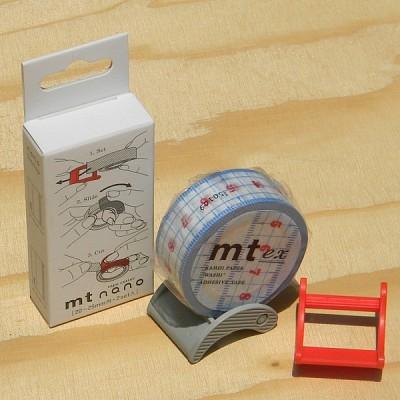 폭20~25mm용 2개 Set-일본 mt 디자인 마스킹테이프 Cutter-Nano No.17