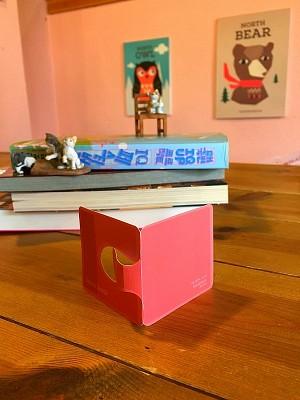 [자동책갈피수지인] 색상:셀로시아오렌지