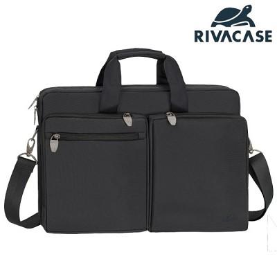 17.3형 노트북 가방 RIVACASE 8550 (태블릿PC & 액세서리 수납 공간 / 여행용 캐리어 장착 가능)
