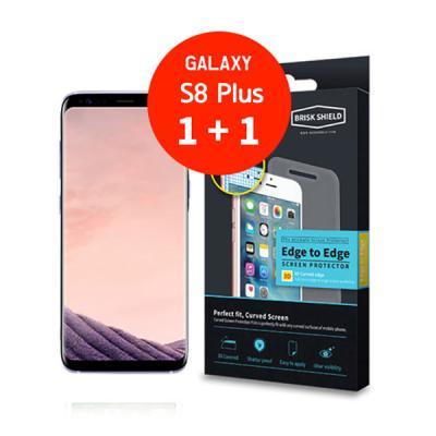 브리스크쉴드 삼성 Galaxy S8 plus 충격흡수 3D풀커버 프리미엄 액정보호필름(2개1세트)