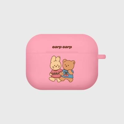 nini friends-pink(Air pods pro case)