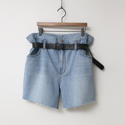 Belt Denim Shorts - 벨트포함