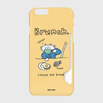 Brunch cat-Creamyellow(카드수납케이스)