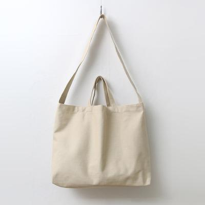 Canvas Big Shoulder Bag