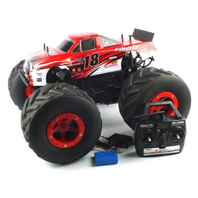 2.4GHz 1/6 Red B 빅휠트럭 RC(rowdy) (BGT279825REB)