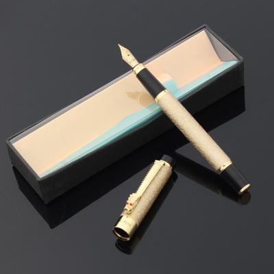 컬름 루비드래곤 만년필+카트리지세트(골드)