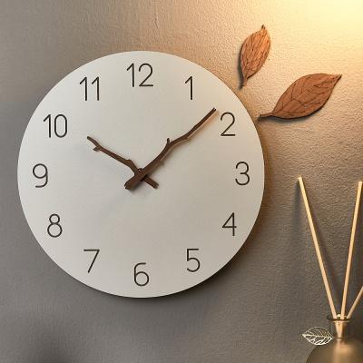 플라이토 우드 나뭇가지 무소음 인테리어벽시계 28cm