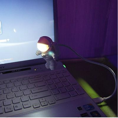 우주 비행 USB 미니 라이트