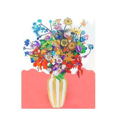 키난빌 반짝커-마스터 피스(일본 꽃병의 꽃다발)