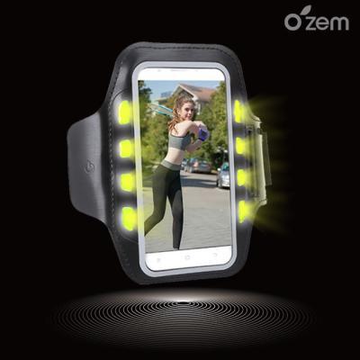 오젬 갤럭시S10 LED 스마트폰 스포츠 암밴드