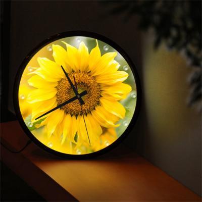 nf400-LED시계액자35R_햇살가득해바라기