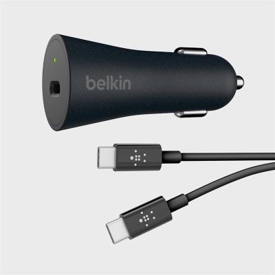 벨킨 고속 USB-C TO USB-C 차량용충전기