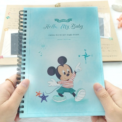 초음파앨범(임신다이어리)-렛츠고, 미키 마우스