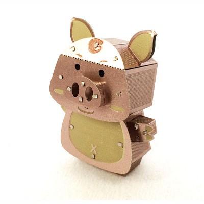 [이노메탈퍼즐] 돼지 금속조립키트 (MIK000621)메탈웍스