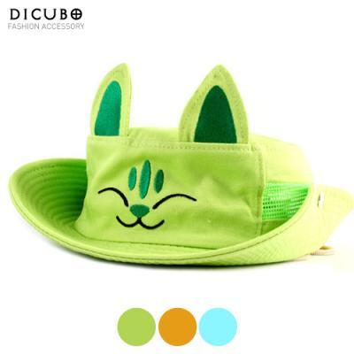 [디꾸보]고양이 벙거지 아동모자 DCH-HN040